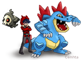 Second Pokemon Sprite for a gaiaonline user by Cemhta