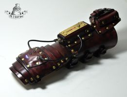 The gauntlet with sequential flashing LEDs by MrSTimmyHog
