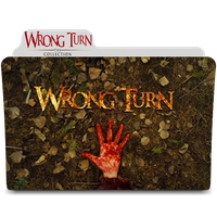 Wrong Turn Collection Folder Icon by amirtanha18