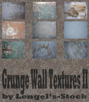 Grunge Wall Texture Pack II by Lengels-Stock