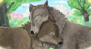 .::Snuggle::. by Elzux
