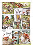 Ratha's Creature Graphic Novel Sample Page by deathmango