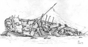 britannic's final moments by carsdude