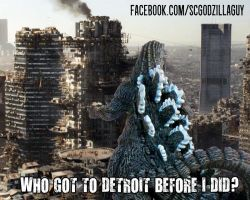 Economic Downturn Vs. Detroit by Shin-Goji