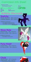 Commission Prices - Holiday Prices by KeyoshiStorm