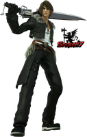 Squall Leonhart - Render 2 by snakeff7