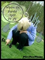 Haruhiii .. -Ouran Cosplay 07 by FIREFOXFLAME