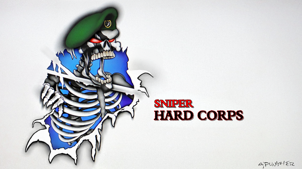 Sniper Hard Corps top image text by Ajpunisher