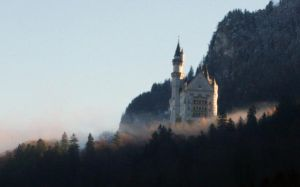 Neuschwanstein castle by NHuval-stock