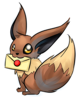 Eevee Mail by GlassPanda