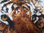 cross stitch tiger 2 by ZUMzumSTAR