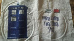 Doctor Who Tardis Stitch by Relaxology