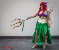 Warrior Ariel Cosplay by lacie-dewnor