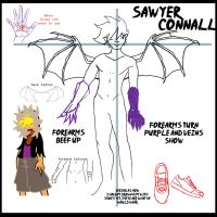 Sawyer Character Sheet by Enef