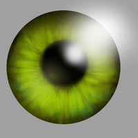 Eye Digital Painting Practice by Hyperchaotix