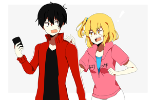 shintaro and momo by toubari