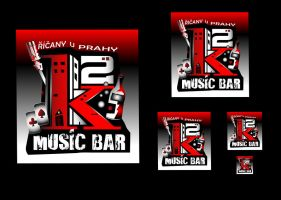 K2 music bar concept by R1Design