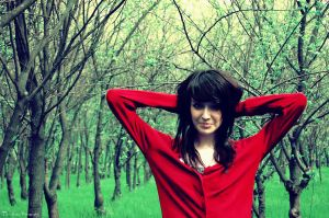 Little Red Riding Hood by chocoleptic01 - K�rm�z� & Ye�il Avatarlar