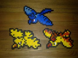 Perler Hama Bead - Legendaries Pokemon by Yuny-Chan