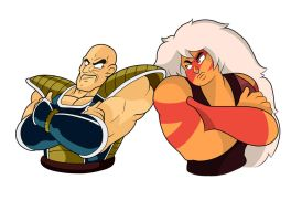 Nappa and Jasper by IBasilio