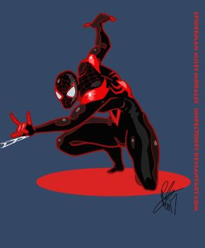 Spiderman Miles Morales by Inspector97