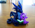 Dragon Storytime by DragonsAndBeasties