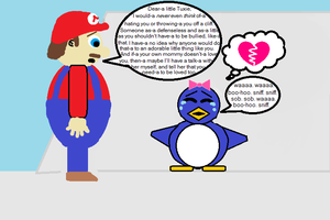Mario 64 Baby Penguin (in a different light) 7 by CJO1234