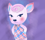 Diana - Animal Crossing by BoundingFromEarth