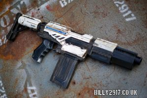 nerf call of duty peacemaker by billy2917