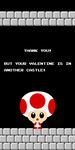 Mario Valentine Reply by Happbee