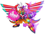 Commission: Rival (Super Berserker Form) by ultimatemaverickx
