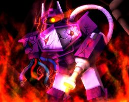 TRANSFORMERS Shockwave by NK0504
