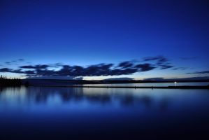 Good Night Yellowstone Lake by Jamest4all