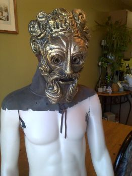 Giant Dad mask and Hood  Numero Deuce by mongrelman