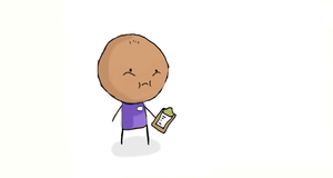 My Manager with clipboard by DA-sWooZie