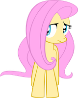 Anxious Fluttershy Vector by Gusteaureeze