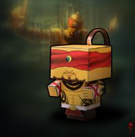 Cubeecraft Lee Sin by Oklagija95