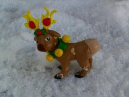 Stantler Ornament by sorjei