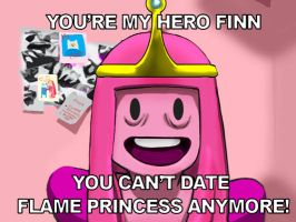 Overly Attached Princess Bubble Gum by chrystohypercubus