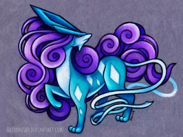 Suicune by danniichan