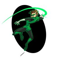 Green Lantern by andrewchandler80