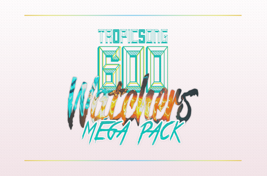 600 WATCHERS PACK! by tropicsong