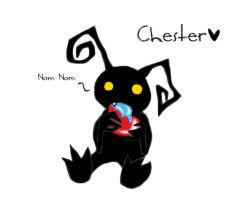 Chester the Heartless - Nom by xCheshireGrin228