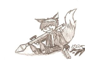 Lookit the Cute Wittle Hitman by cat-gray-and-me78