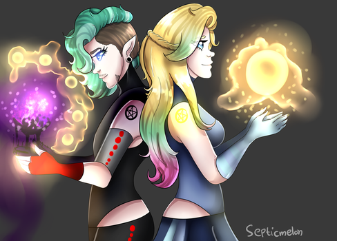 YT/ Two sides by SepticMelon