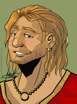 Handsome Varric by Kitao-chan