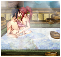 Paypal Commission :SasuKarin HotSpring: by NammyLank