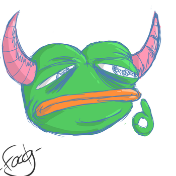 Edgy pepe by MrHappiDappi