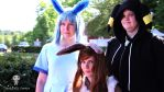 Eeveelutions - Glaceon, Umbreon and Eevee by DreamyArtCosplay