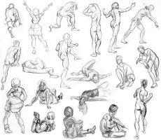 19 Life Drawings by clearkid
